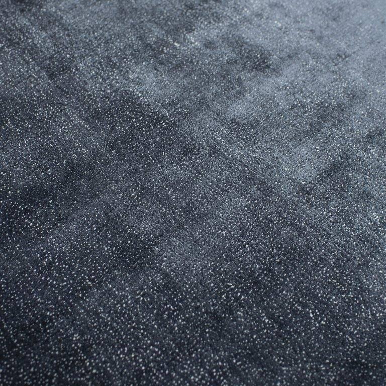 Dywan Carpet Decor Linen Dark Blue Handmade Collection