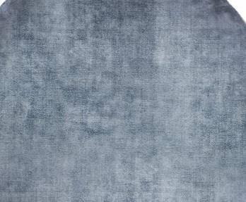 Dywan Carpet Decor Linen Dark Blue Handmade Collection Round