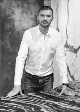 Dywan Carpet Decor Statuario Light Gray by Maciej ZIEŃ