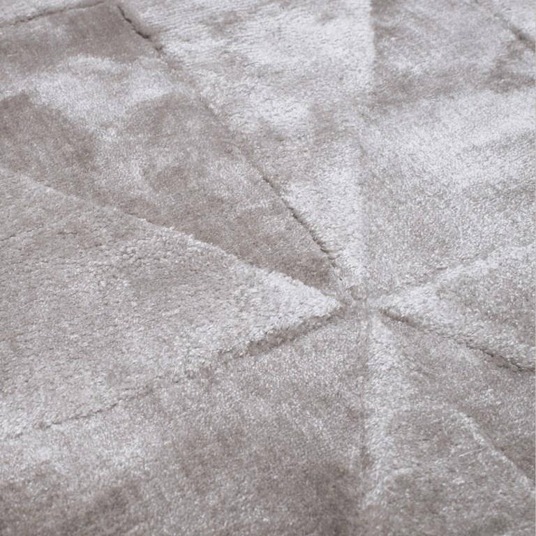 Dywan Carpet Decor Triango Silver Handmade Collection