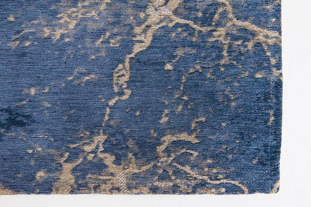Dywan Louis de Poortere Mad Men Cracks Abyss Blue 8629
