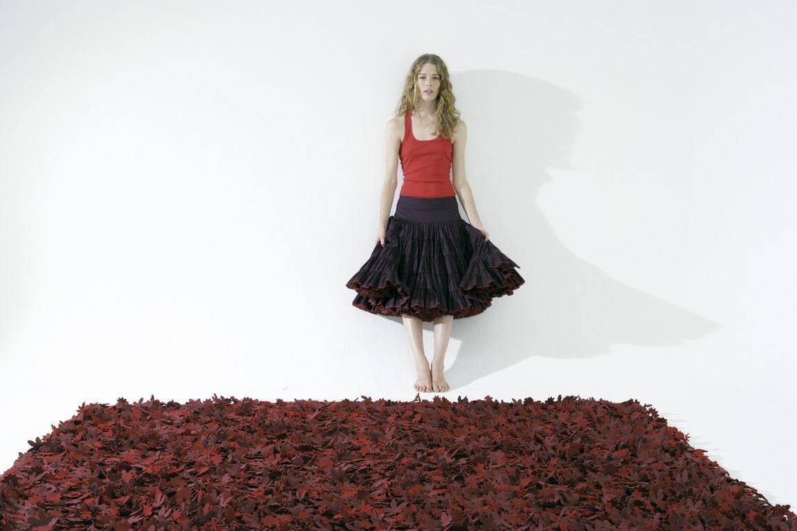 Dywan Nanimarquina Little Field of Flowers Reds