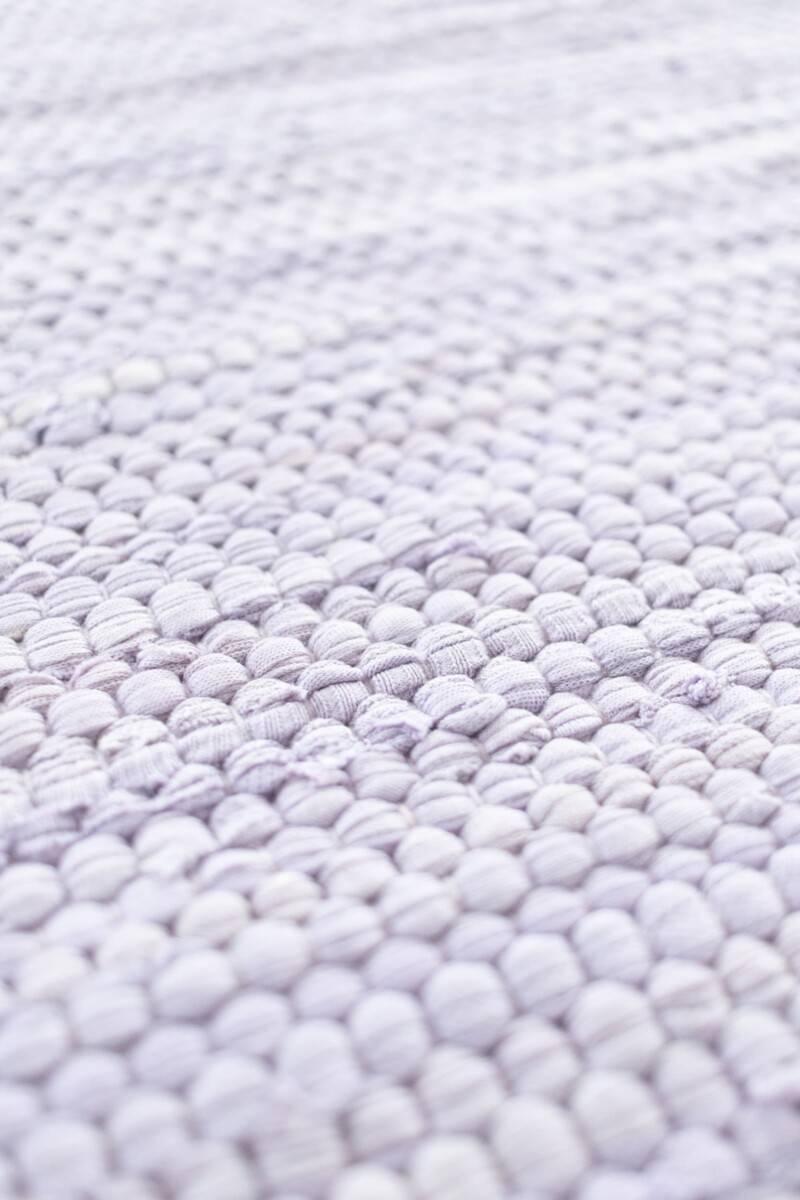 Dywan Rug Solid Cotton Rug Lavender