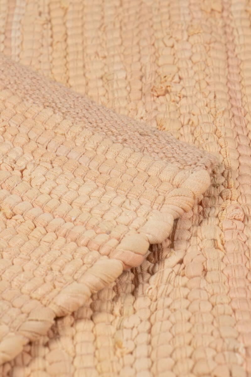 Dywan Rug Solid Cotton Rug Soft Peach