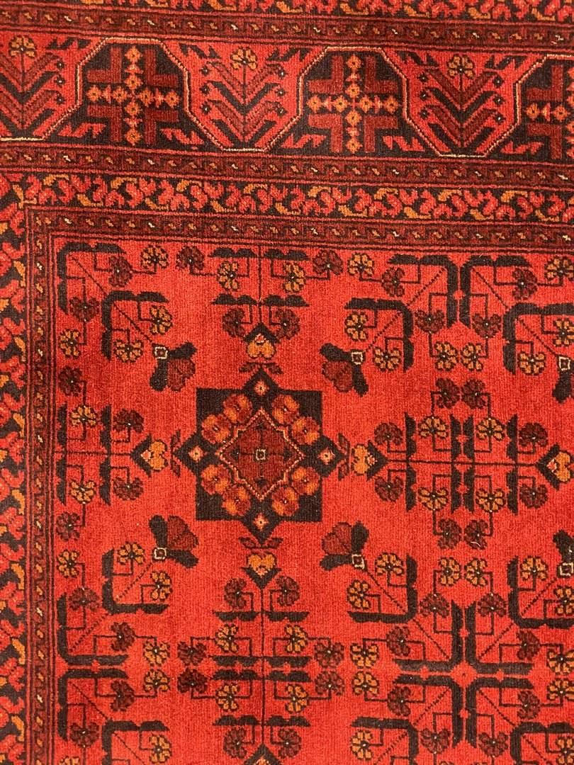 Dywan Wełniany Afghan Khanmoha 146 x 200